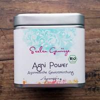 Agni Power Ayurveggie-Gewürzmischung Bio, 50 g Dose