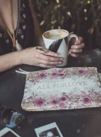 All For Love Pocket Clutch von Papaya