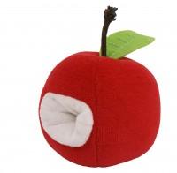 Apfel mit Rassel