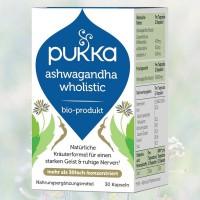 Ashwagandha Wholistic Pukka, Bio, 30 Kapseln