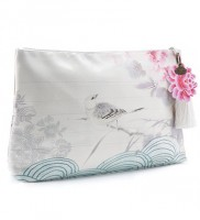 Asian Peony Accessory Pouch von Papaya