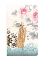 Asian Peony Sketch & Scribble Set Notizbuch von Papaya