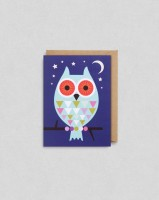 BIG OWL MINI CARD