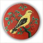 Badges  mit Vogel