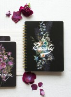 Beauty Bouquet Spiral Notebook by Papaya!