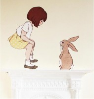 Belle & Boo 1st Meet Wall Sticker