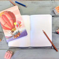 Belle & Boo A5 Balloon Notebook