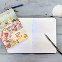 Belle & Boo A5 Mermaids Notebook