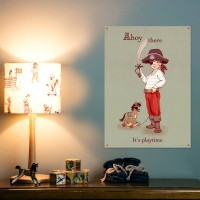 Belle & Boo Ahoy There Poster