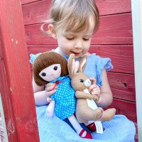 Belle & Boo Belle Doll Plush Toy