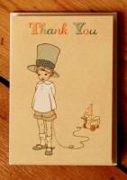 Belle &  Boo Gruss-Minikarten-Set