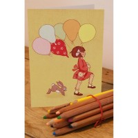 Belle &  Boo Grusskarten Playtime