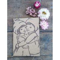 Belle &  Boo Letterpress Grusskarten