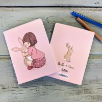 Belle & Boo Mini Notebook Belle Hugs Boo