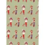 Belle & Boo Piraten und Cowboys Geschenkpapier