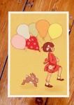 Belle &  Boo Playtime Postkarten