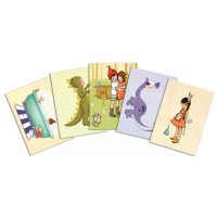 Belle &  Boo Postcard Pack