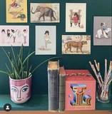 Belle &  Boo  Postkarten Sepia Art-Motive Nostalgie