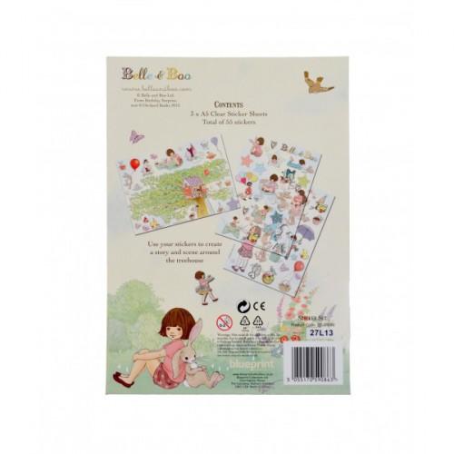 Belle & Boo Sticker Set