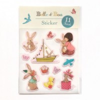 Belle & Boo Sticker Set struktur
