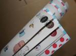 Belle & Boo Weiches rote Puencktchen Geschenkpapier