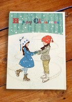 Belle &  Boo X-Mas Grusskarten