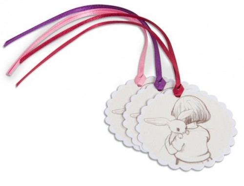 Belle Hugs Boo Sepia Gift Tags