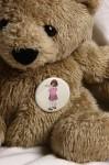 Belle schultert Boo  Button