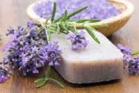 Bio Badecupcake Lavendel
