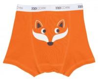 Boxershorts 3er Set Boys aus Bio-Baumwolle (4-5 J.) - Orange Multi von Zoocchini