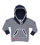 Brischen Hoody navy/vanilla-Stripe