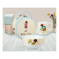 Classic Belle & Boo Breakfast Set