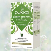Clean Greens Bio, Pukka, 112 g Pulver