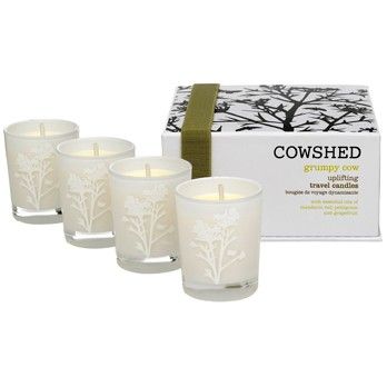 Grumpy Cow Uplifting Travel Candles