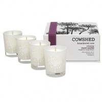 Cowshed Knackered Cow Relaxing Travel Candles entspannendes Kerzenset