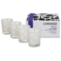 Cowshed Lazy Cow Soothing Travel Candles beruhigendes Kerzen-Set