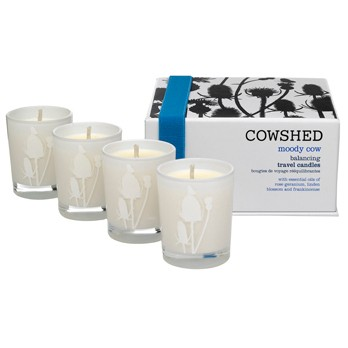 Moody Cow Balancing Travel Candles