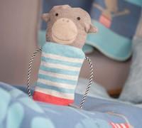 David Fussenegger Juwel Set Decke in Puppe Affe Babydecke  70x90 cm