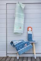 David Fussenegger Juwel Set Decke in Puppe Meerjungfrau Pacific  Babydecke  70x90 cm