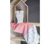 David Fussenegger Juwel Set Decke in Puppe Pinguin  Babydecke  70x90 cm
