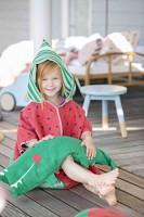 David Fussenegger Kapuzen Cape Melone 2 - 4 Jahre