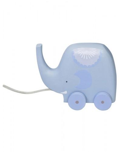Elephant auf Rädern