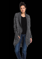 Fair trade Frauen Strickjacke Frauen DELUXE FLECKED von recolution