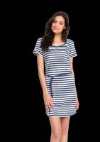 Fair trade Kleid SHIRTDRESS STREIFEN von recolution