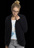 Fair trade Strickjacke Frauen CARDIGAN POCKET navy von recolution