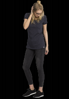 Fair trade T-Shirt Frauen Patch Pocket DOTS navy von recolution