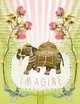 Fancy Elephant Magnet