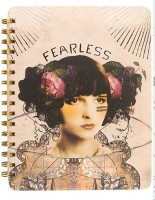 Fearless Spiral Notebook by Papaya!