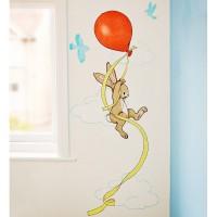 Fensterbilder von Belle & Boo mit den Motiv Balloon Festival Hot Air Balloons, My Paper Plane, Pink
