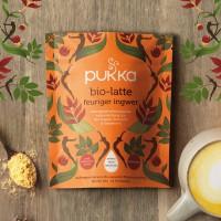 Feuriger Ingwer Pukka Bio Latte